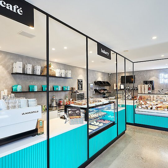 Interior photograph of Parkside Pantry by Michelle Jarni