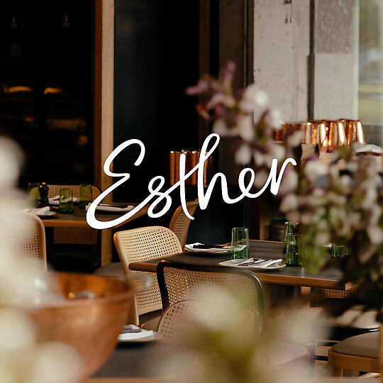 Interior photograph of Esther by QT Auckland