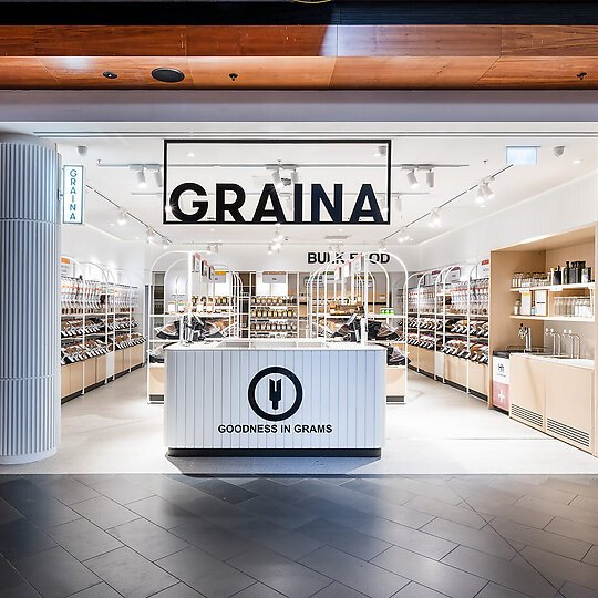 Interior photograph of Graina - Highpoint by Steve Scalone