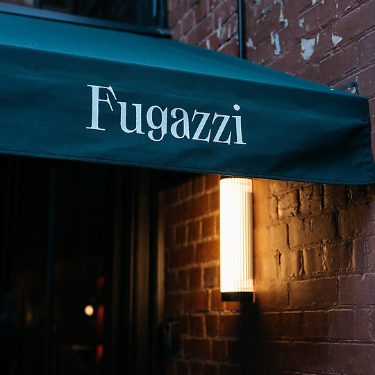 Interior photograph of Fugazzi by Jules Cebo (Kransky Creative)